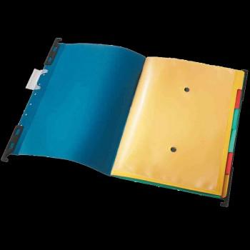 """Leitz Mobile Ordnungs-Hängemappe """"Divide-It-Up"""" Colorspan-Karton  A4 blau"""