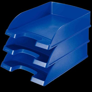 Leitz Briefablage Plus Standard Kunststoff / stapelbar  A4+ längs schwarz