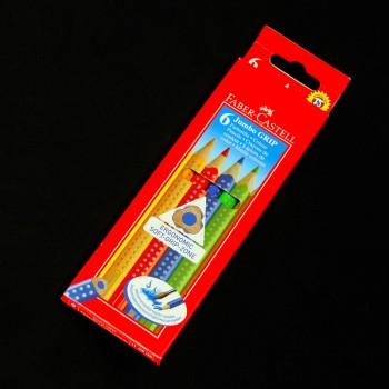 Buntstifte Jumbo GRIP 6er Pack