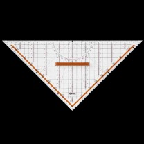 Geometrie-Dreieck mit Griff, abnehmbar 320 mm