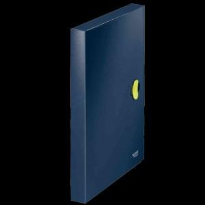 Leitz Ablagebox re:cycle PP  A4 dunkelblau