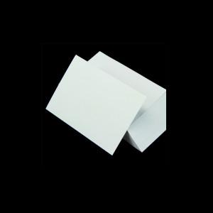 Karteikarten A8 weiß blanko