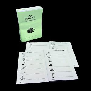 Igel Heft 1 - einfache Linie (5er Pack)