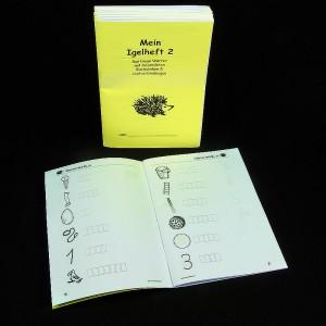 Igel Heft 2 - Kästchen (5er Pack)