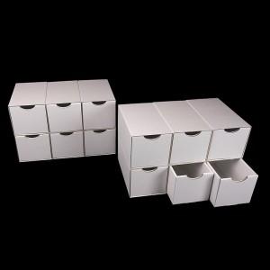 Schubladenboxen 6er quer