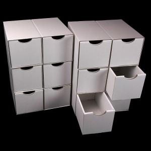 Schubladenboxen 6er hoch