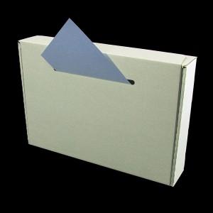 Zettel-Einwurf Kasten
