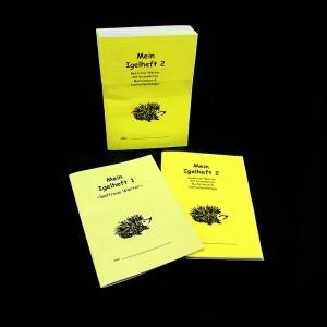 Igel Hefte 1&2 - Kästchen (5er Pack)
