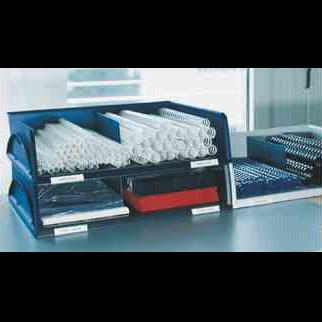 leitz ablagekorb sorty jumbo variabel a3 c3 blau 901020. Black Bedroom Furniture Sets. Home Design Ideas