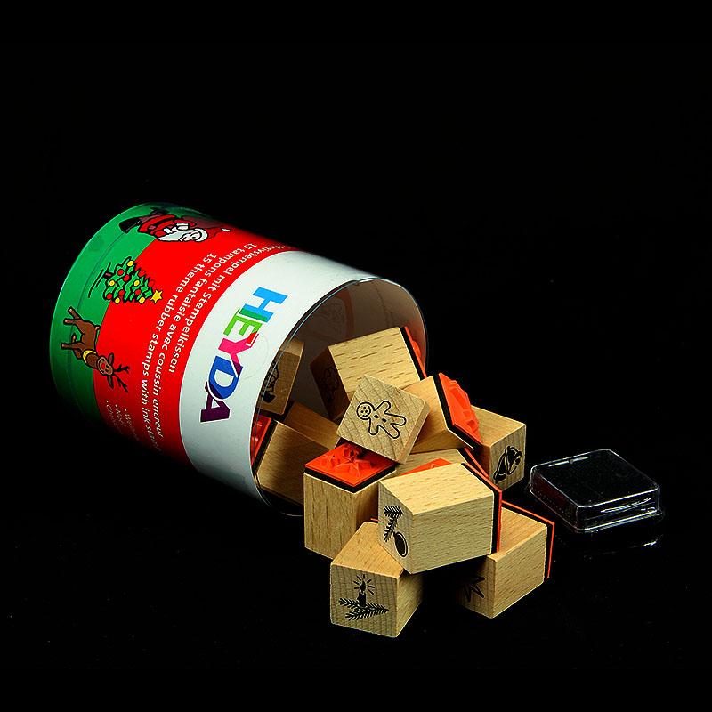 """Belohnungsstempel / Motivstempel Set """"Weihnachten"""""""