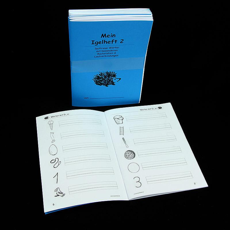 Igel Heft 2 - 3er Lineatur (5er Pack)