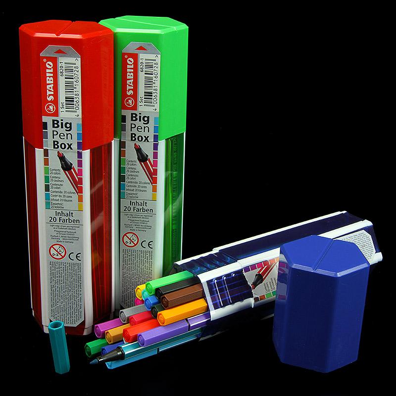 Stabilo Pen 68 Fasermaler - Big Pen Box