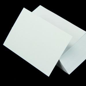 Karteikarten A7 weiß blanko