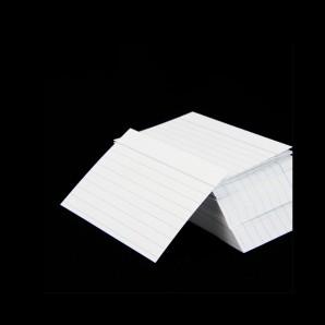 Karteikarten A8 weiß liniert