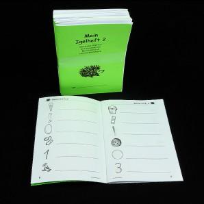 Igel Heft 2 - einfache Linie (5er Pack)