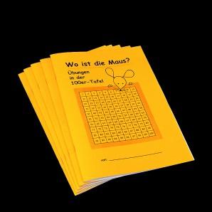 Wo ist die Maus? Übungen in der 100er-Tafel (5er Pack)